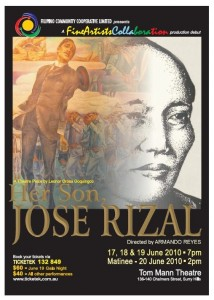 Jose Rizal play