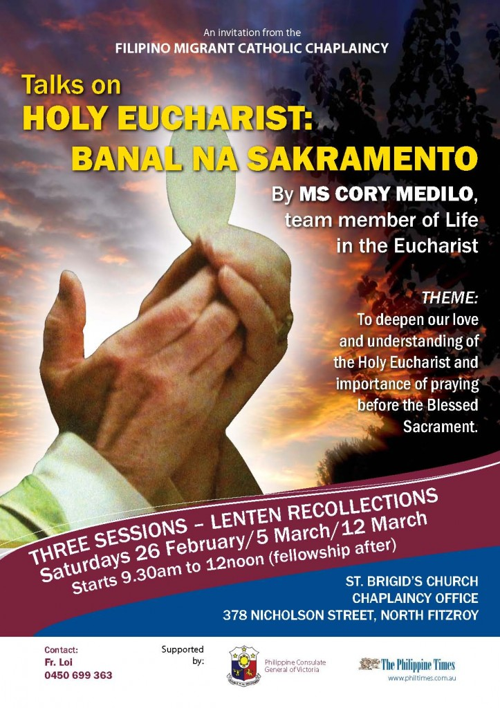 Talks on Holy Eucharist