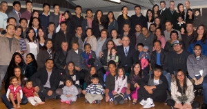 The expanded Abenoja clan in 2013
