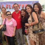 Dr Ed Lagrito and company taken during the Feast of Sto Niño in January 2014.