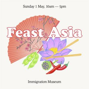 Feast Asia 2016 at Immigration Museum Melbourne