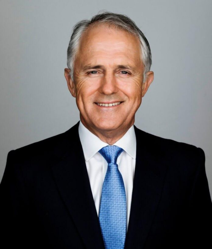 The Hon Malcolm Turnbull MP, Prime Minister of Australia