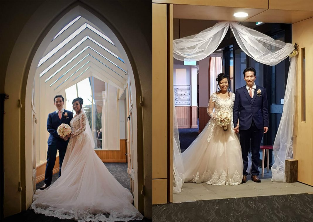 Leslyns wedding photo - A Filipino nurse's story