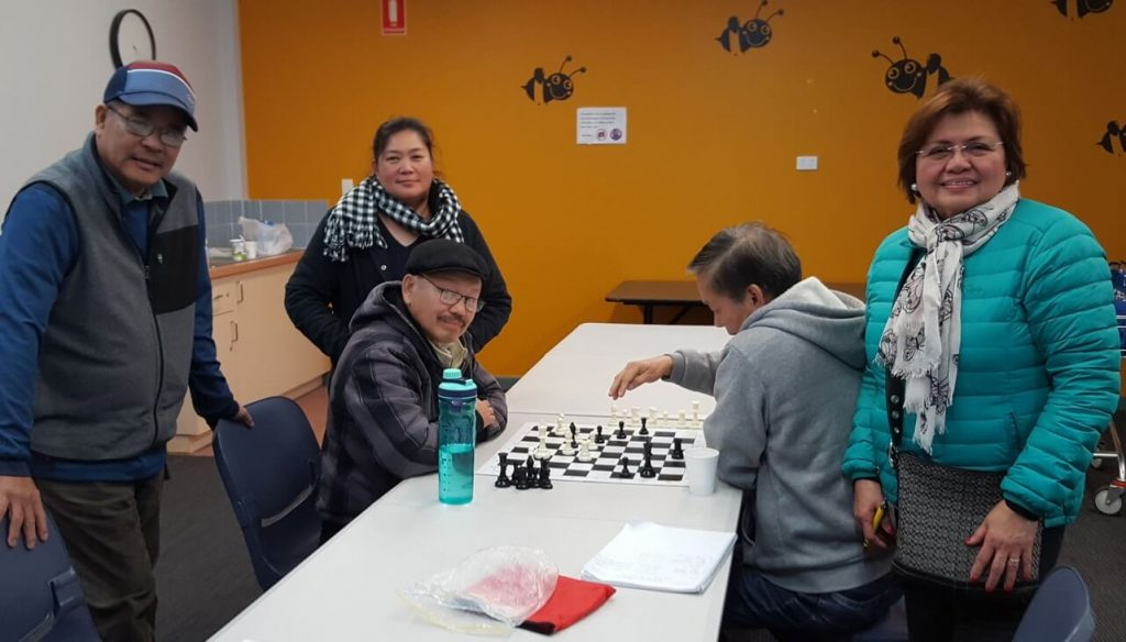 KCCE chess program in Rowville Library