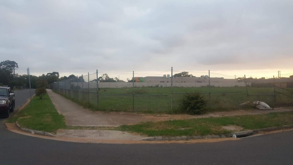 An image taken of the property in late January 2020, prior to the sale of the PFVI lot 2. Photo credit: Raul Roxas