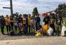 Triskelion on Clean Up Day 2