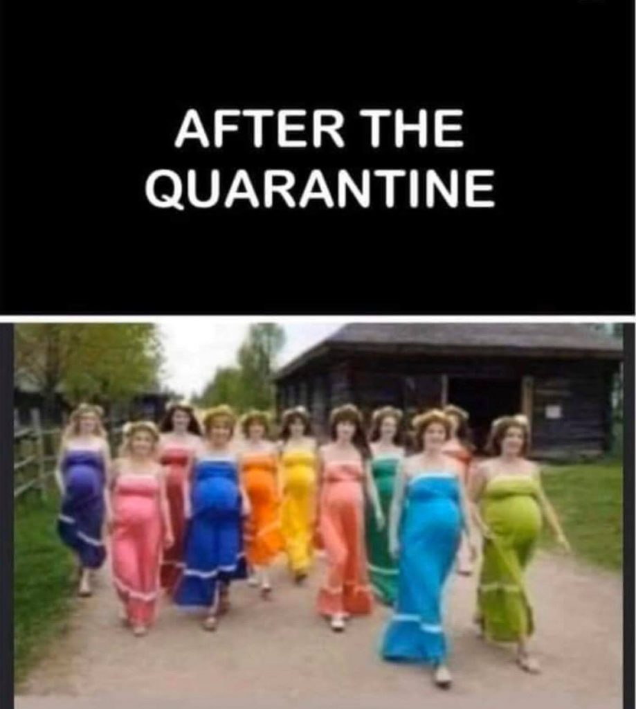 after the quarantine