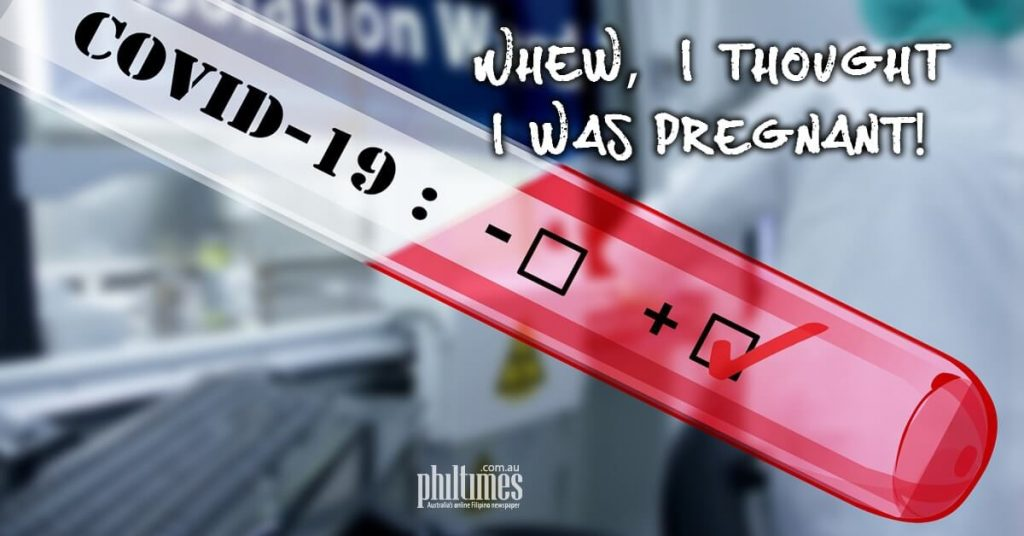 Whew, I thought I was pregnant!