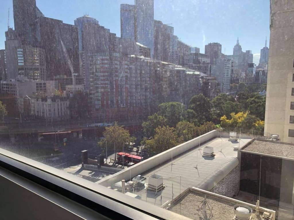 View from Lily Gillespie's room