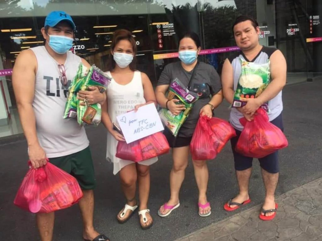 Donation drive by the Federation of Filipino Associations in Malaysia