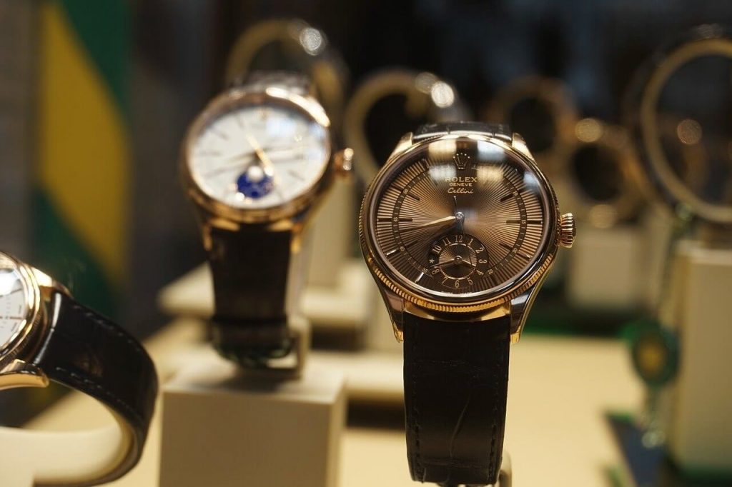 Collectible luxury watches   Image by<a href=