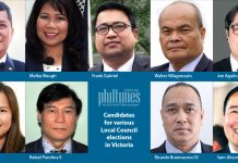 Filipino candidates vying for various Local Council positions in Victoria