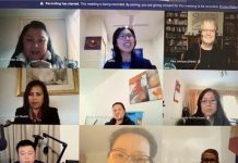 Online roundtable discussion with Filipino community 20 Aug 2020